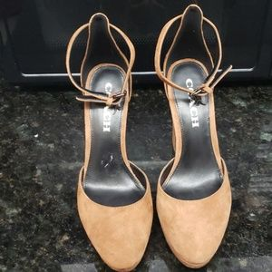 Coach Chunky Heel Shoes